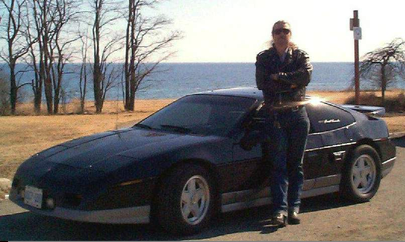 Me an my toy, a 1987 Fiero GT, race equipped.